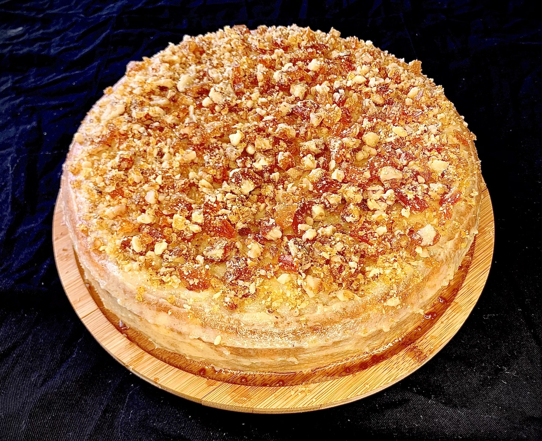 Торта с крокан
